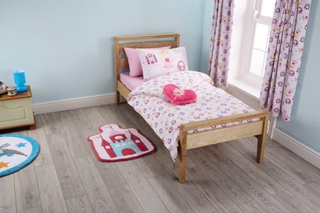 Aldi - fairies toddler bedroom