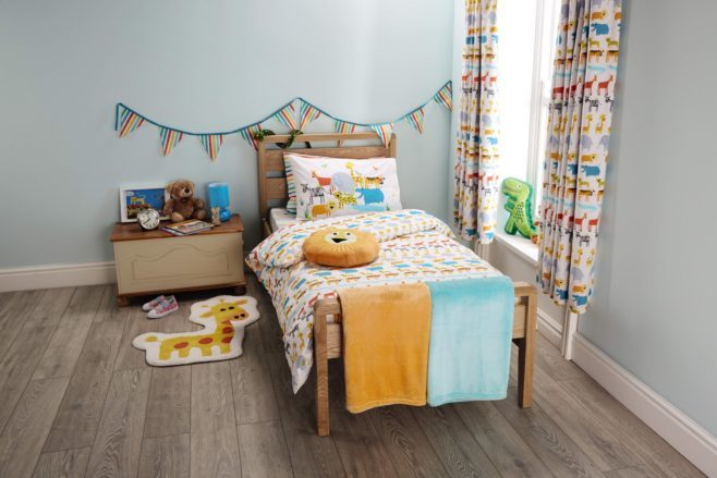 Aldi - Circus Acts toddler bedroom