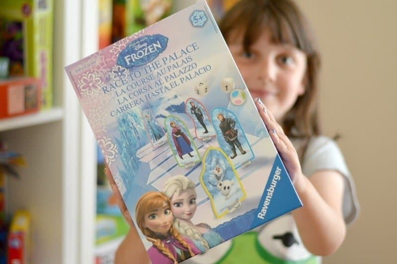 Ravensburger Disney Frozen Race to The Palace Game