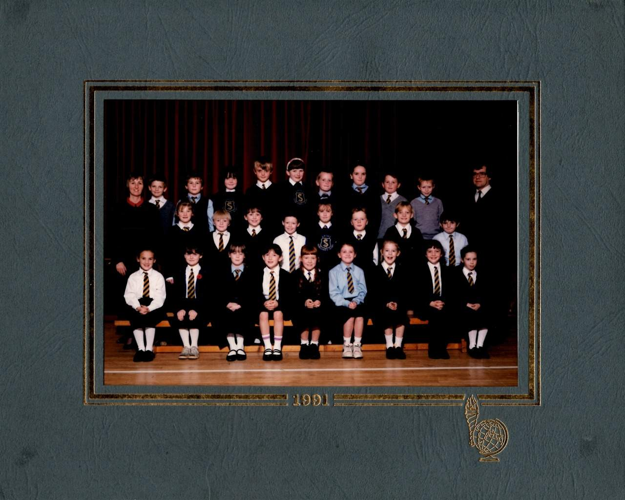 Sarah School Photo - 1991