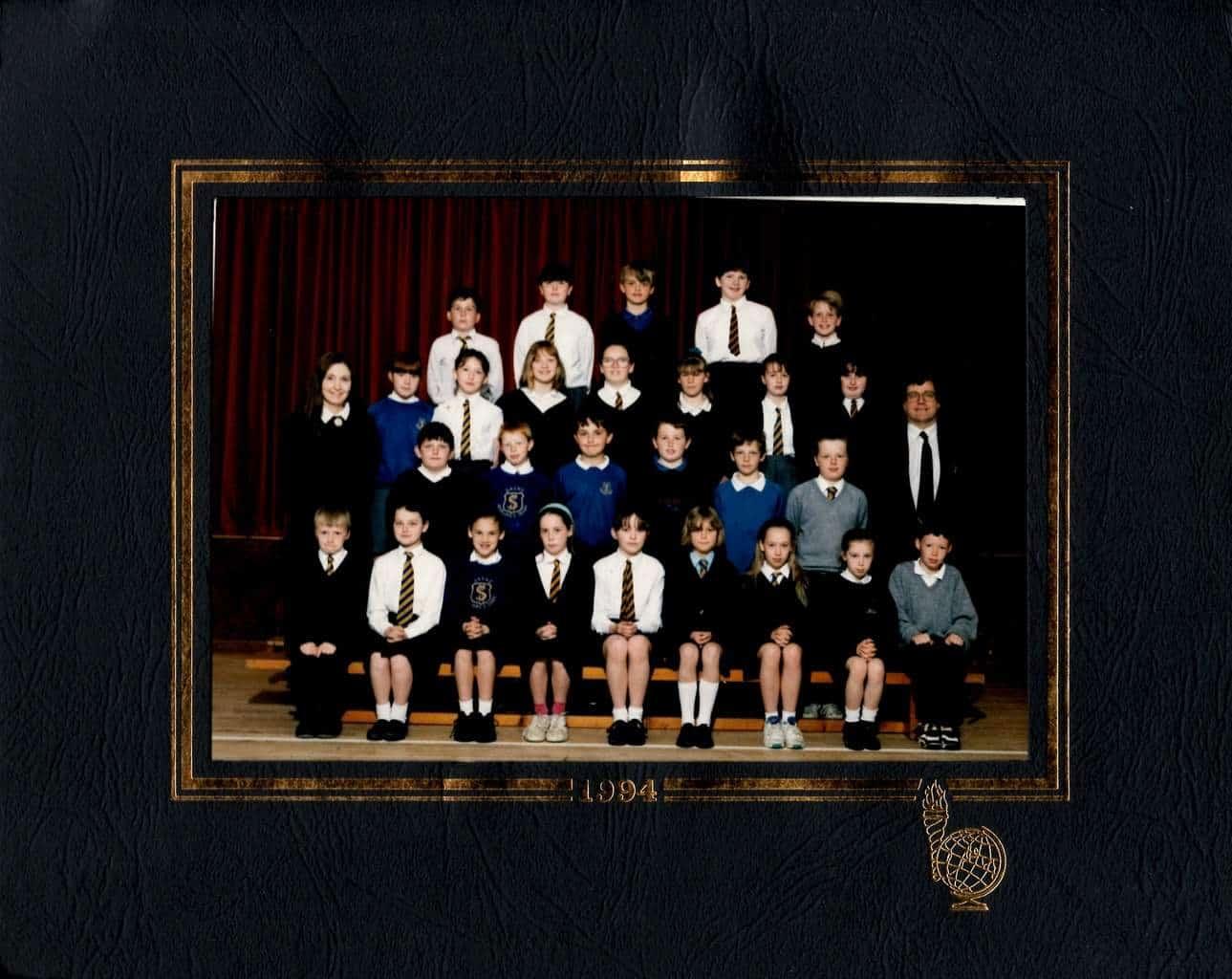Sarah School Photo - 1994