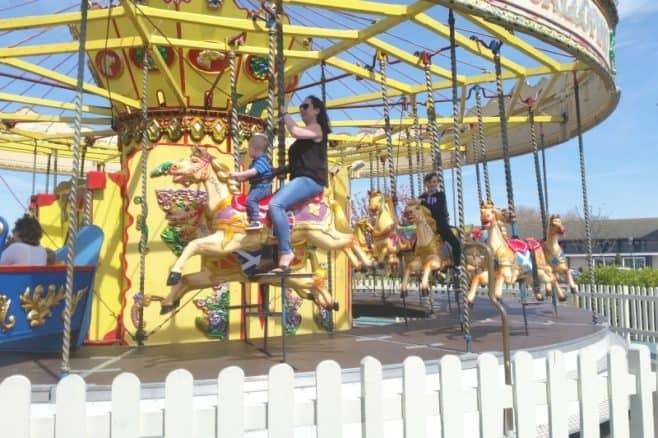 Sir Billy Butlins Fairground - Carousel