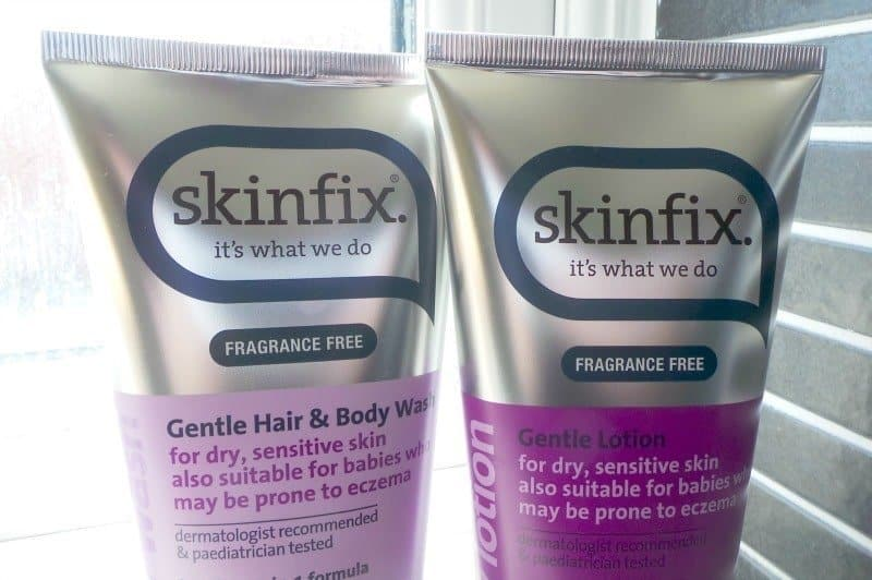 Skinfix Hair & Body Wash and Gentle Lotion