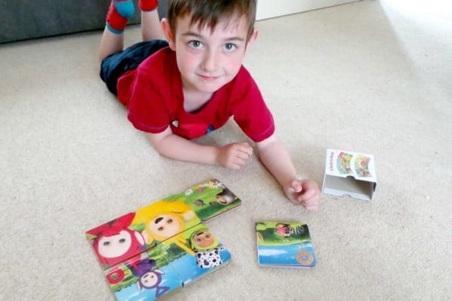 Teletubbies Pocket Library - Tigger puzzle