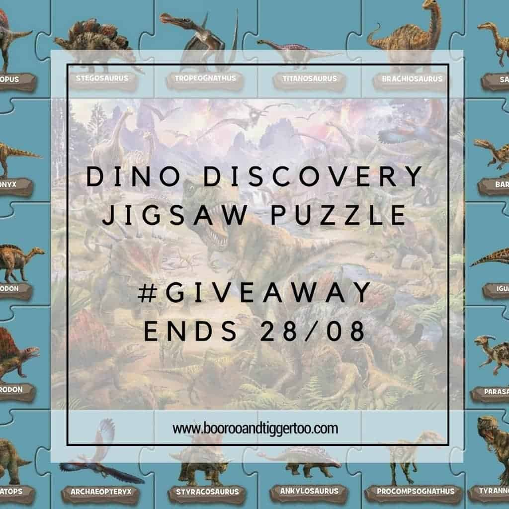 August 16 - DINO Discovery Jigsaw Puzzle - instagram