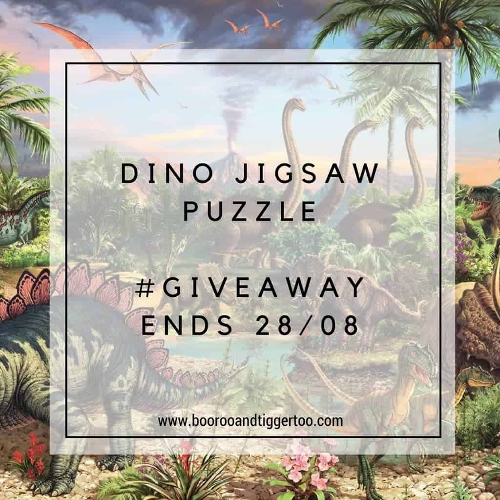 August 16 - DINO Jigsaw Puzzle - instagram