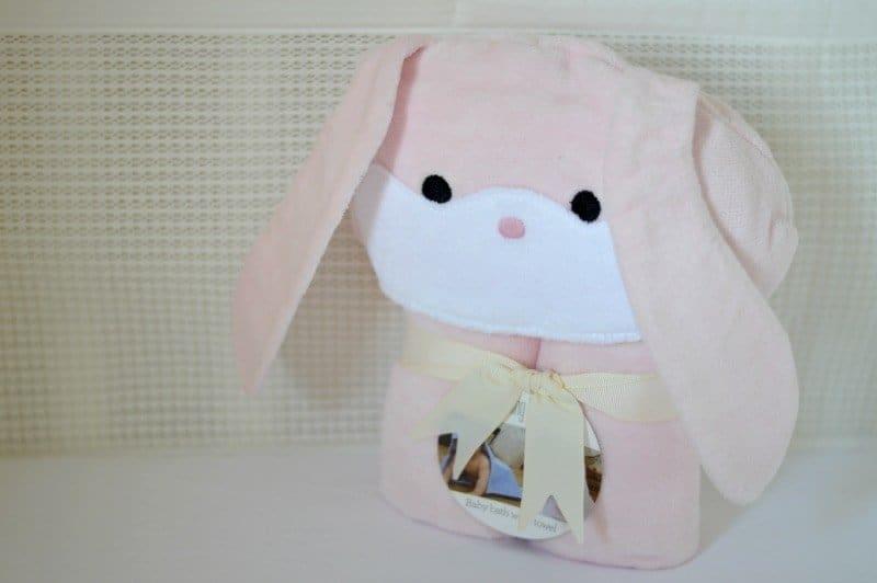 Bathing Bunnies Baby Towel