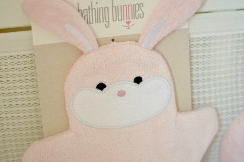 Bathing Bunnies Baby Wash Mitt