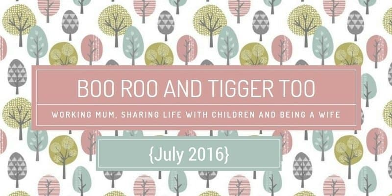 Boo Roo and Tigger Too {July 2016}