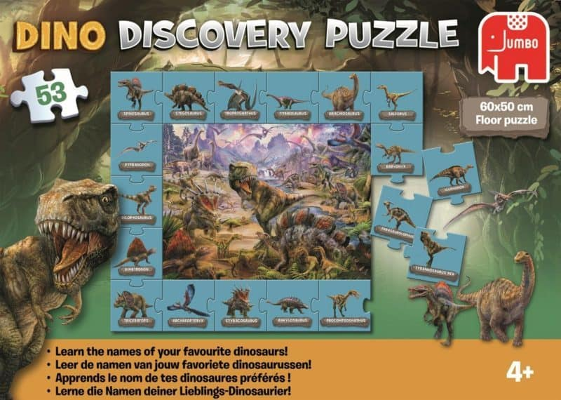 DINO Discovery Jigsaw Puzzle