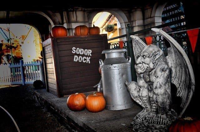 Drayton Manor Park Halloween Sodor.