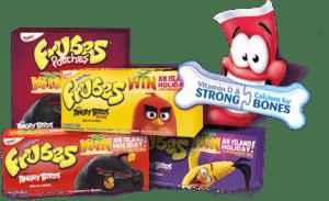 Frubes product range