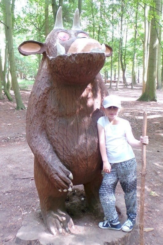 High Lodge, Thetford - Roo Gruffalo Sculpture