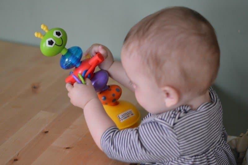 Lamaze Bendy Bug Highchair Toy - Piglet