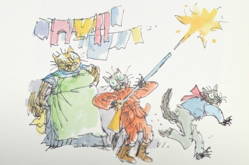 The Tale of Kitty-in-Boots By Beatrix Potter - Gun fire