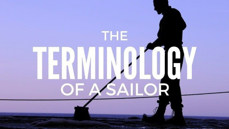 The Terminology of a Sailor