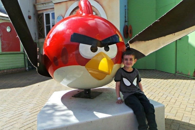 Thorpe Park - Angry Birds Land (Catapult Red)