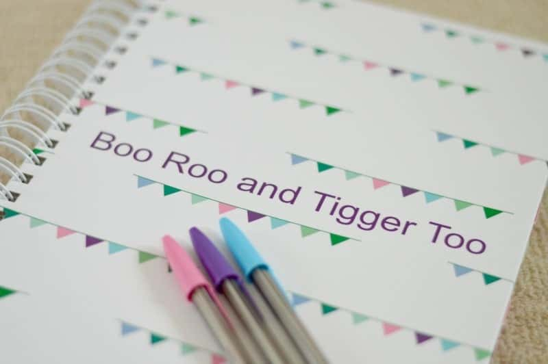 Unique Planners - A4 Life Planner (Boo Roo and Tigger Too)