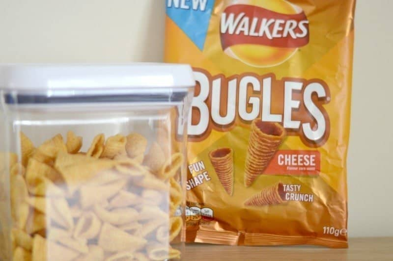 Walkers Bugles - How many Bugles