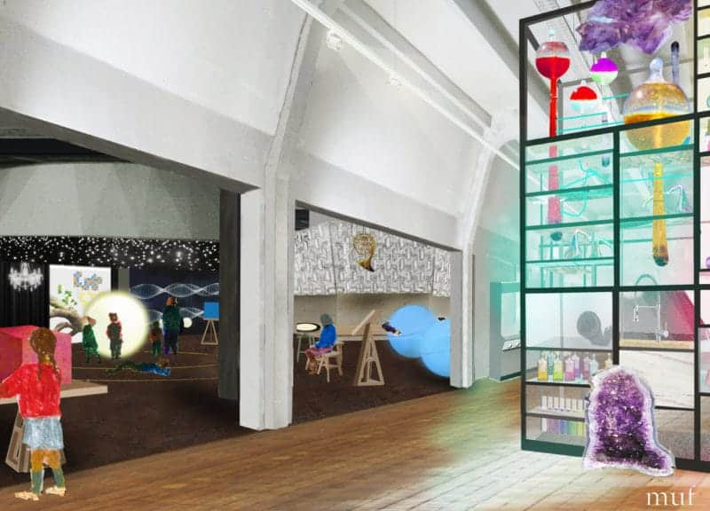 Wonderlab The Statoil Gallery -® Science Museum, muf architecture art