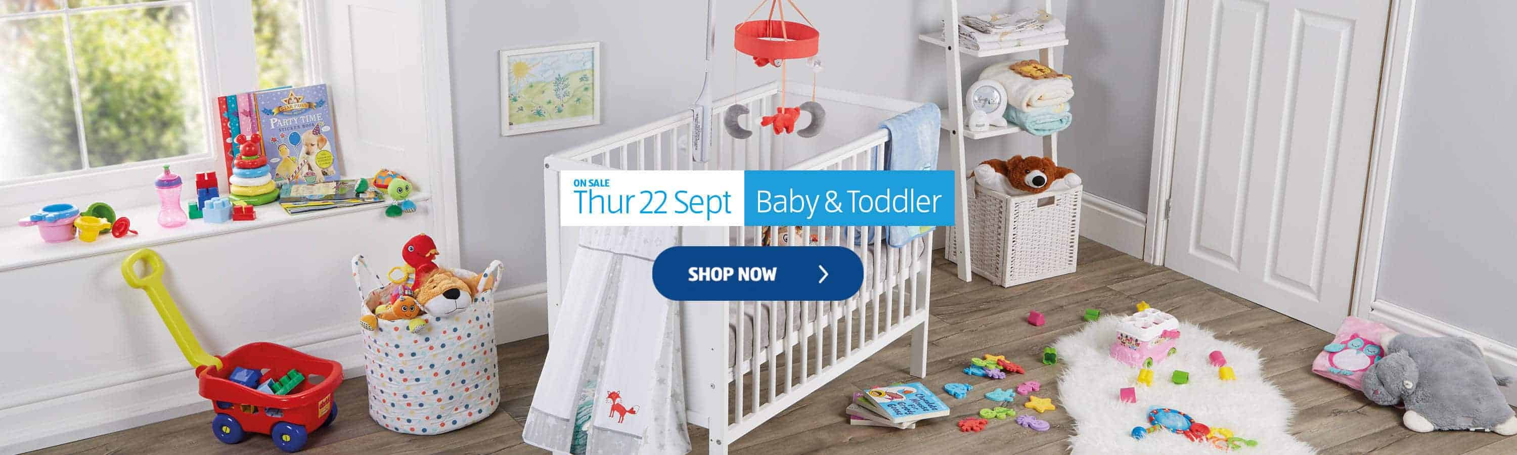 Aldi Baby Range – Specialbuys available 22nd September