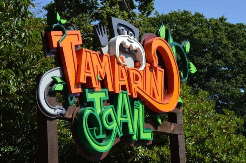 drayton-manor-summer-sizzle-tamarin-trail-sign
