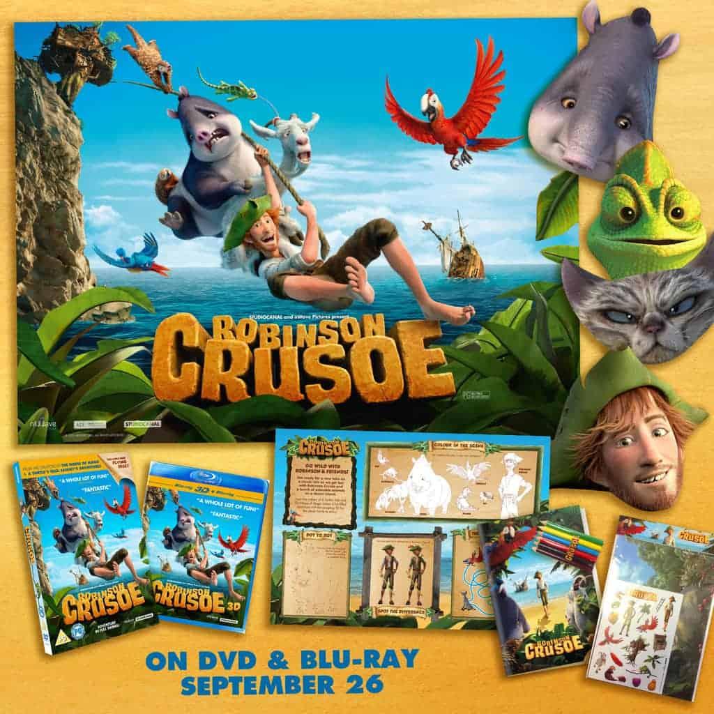 Robinson Crusoe DVD