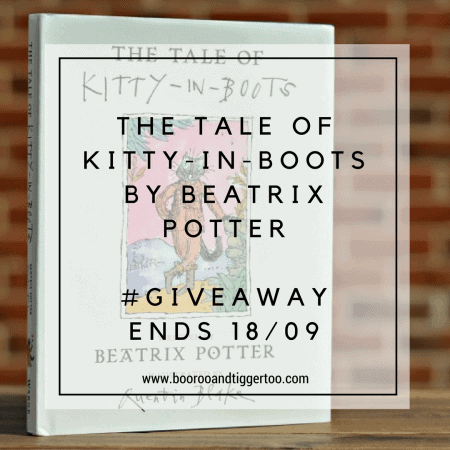 September 5 - The Tale of Kitty-in-Boots By Beatrix Potter - instagram