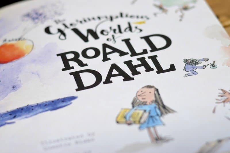 The Gloriumptious Worlds of Roald Dahl - Illustration