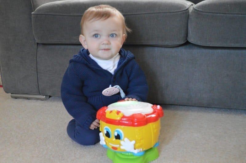 Baby Clementoni Activity Drum