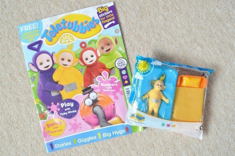 Eh Oh! It's the Teletubbies magazine