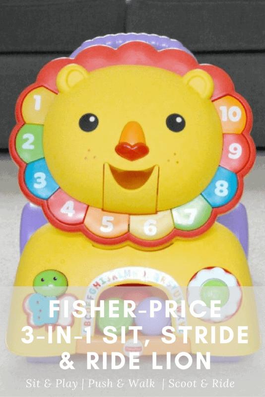 Fisher-Price 3-in-1 Sit, Stride & Ride Lion - Pinterest