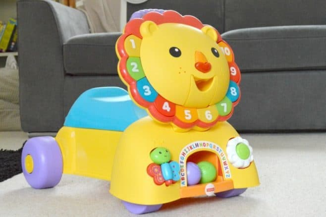 Fisher-Price 3-in-1 Sit, Stride & Ride Lion - Ride