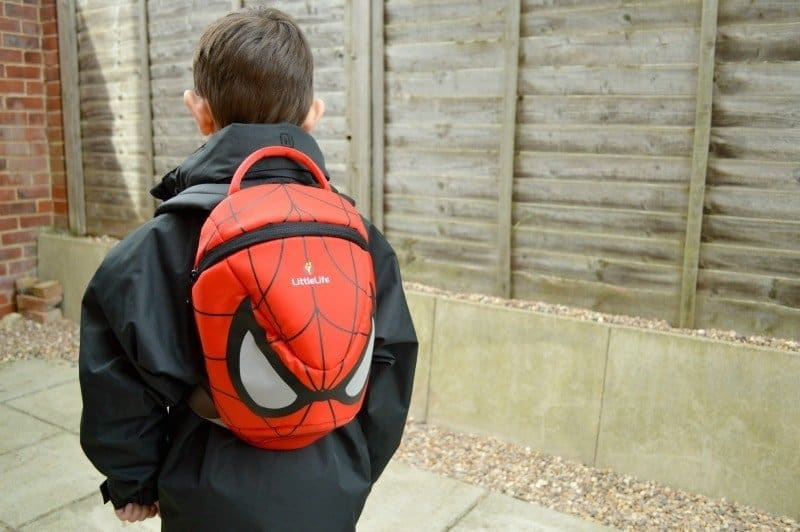 LittleLife Big Marvel Spider-Man Kids Backpack
