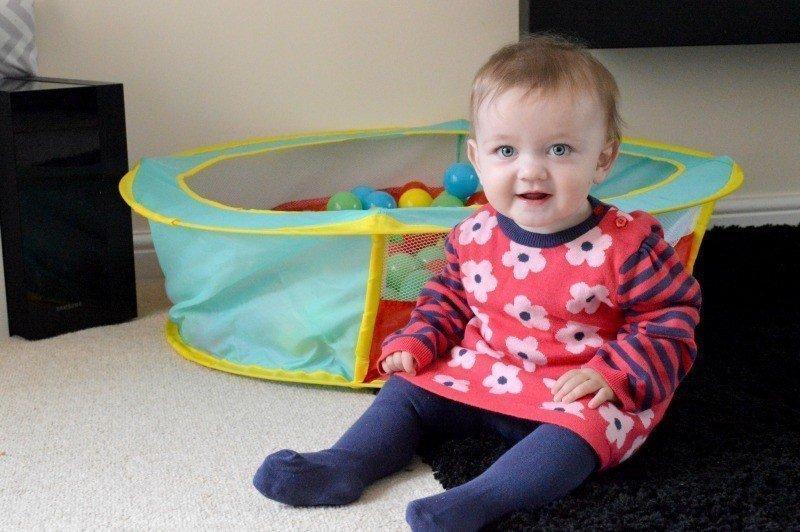 Piglet's Wardrobe   Nutmeg Baby Knitted Dress