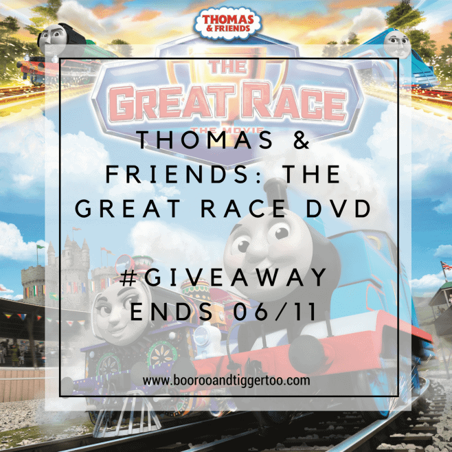 Thomas & Friends: The Great Race DVD - Giveaway