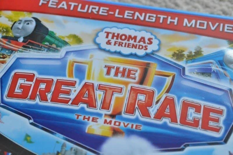 Thomas & Friends: The Great Race DVD