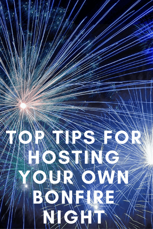 Top Tips for Hosting Your Own Bonfire Night Celebrations - pinterest