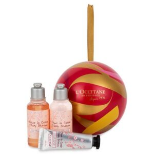 Cherry Blossom Festive Bauble - L'Occitane
