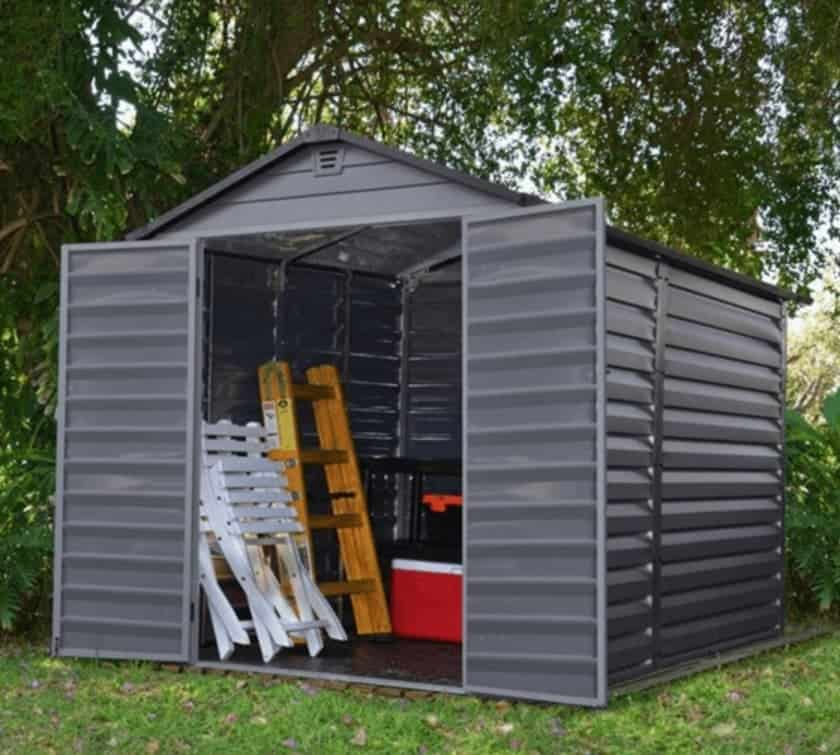 making the most of the storage space in your plastic shed bo