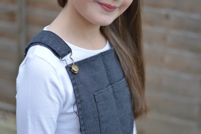 Milk & Biscuits - Denim Pinafore Dress
