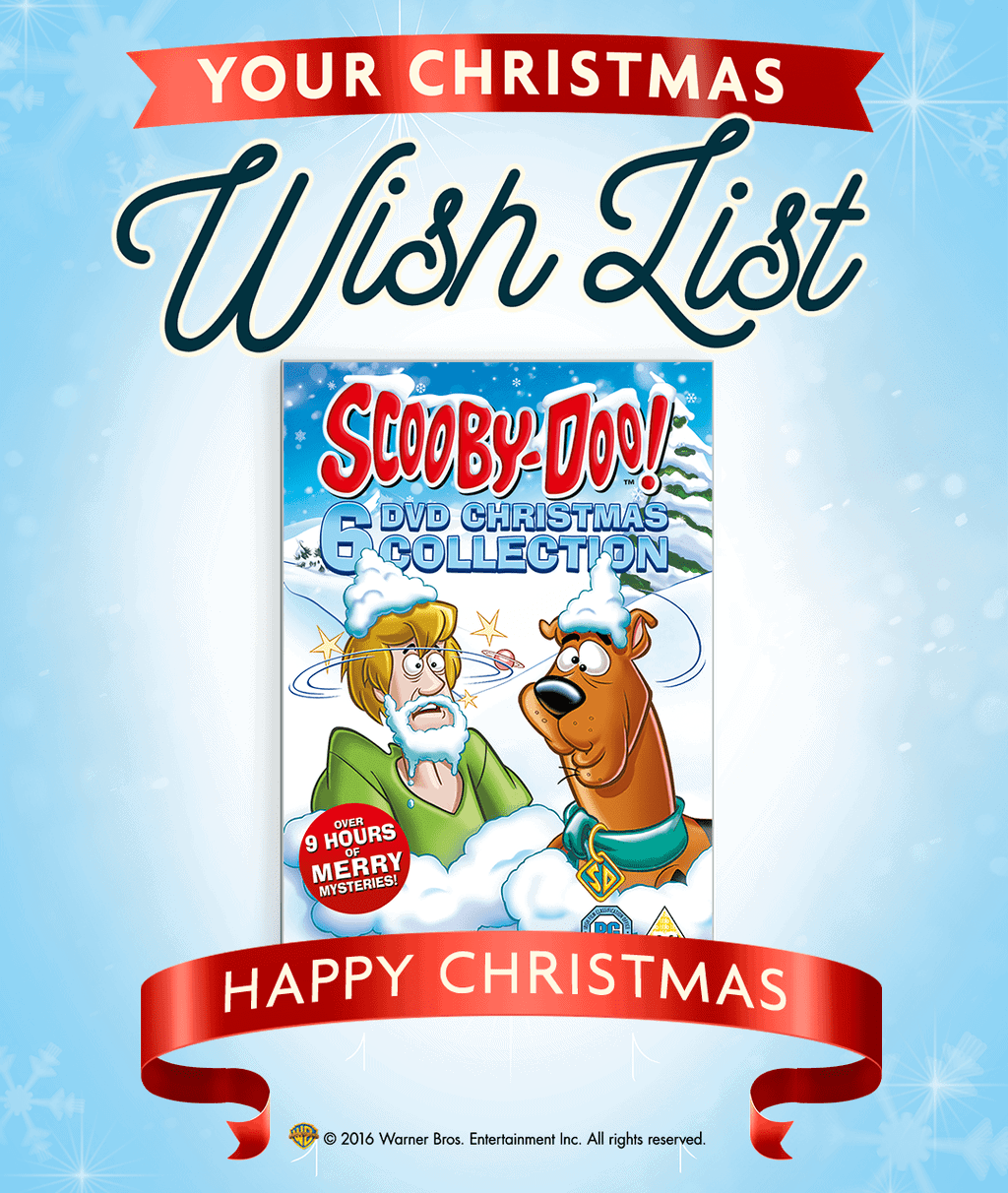 Scooby-Doo! 6 DVD Christmas Collection