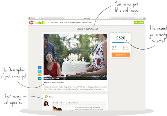 Leetchi.com Group Gifting Service