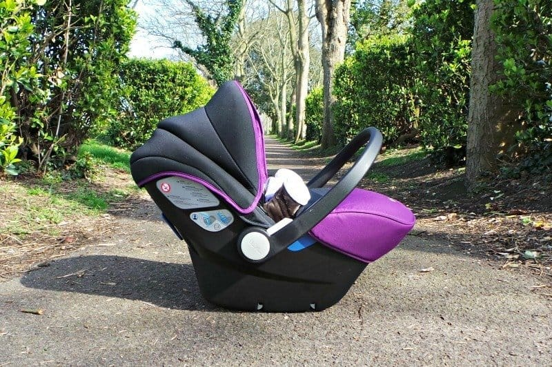 Silver Cross Simplicity Car Seat - Car travel position
