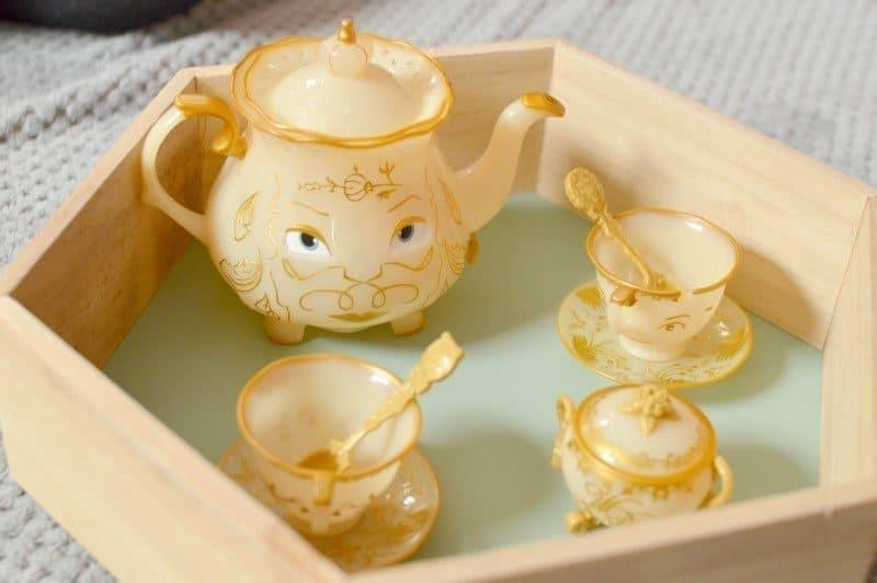 Beauty & The Beast - The Enchanted Objects Tea Set