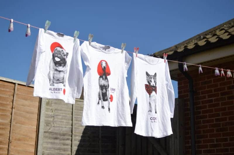TK Maxx Comic Relief T-shirts
