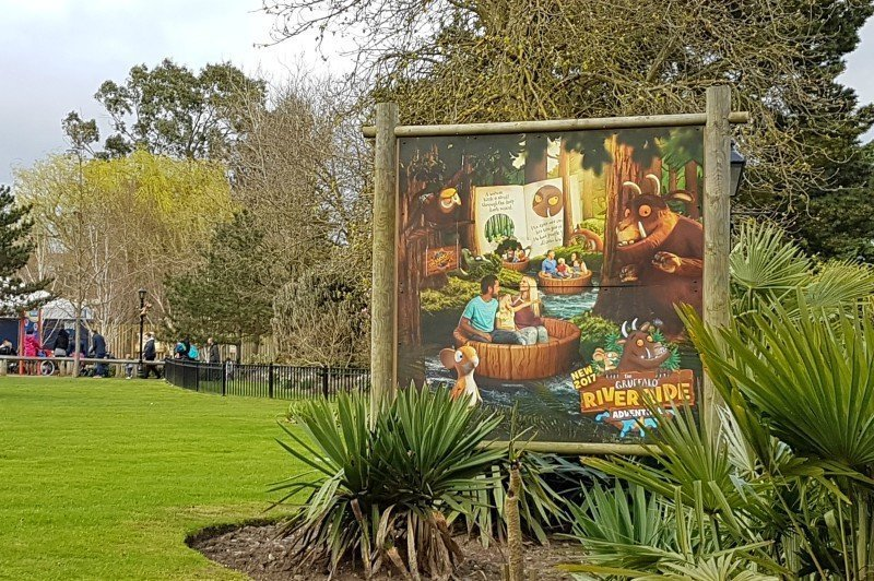 Gruffalo River Ride Adventure at Chessington World of Adventures