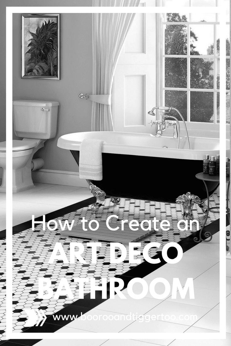 Art Deco Bathroom Accessories How To Create An Art Deco Bathroom Boo Roo And Tigger Too