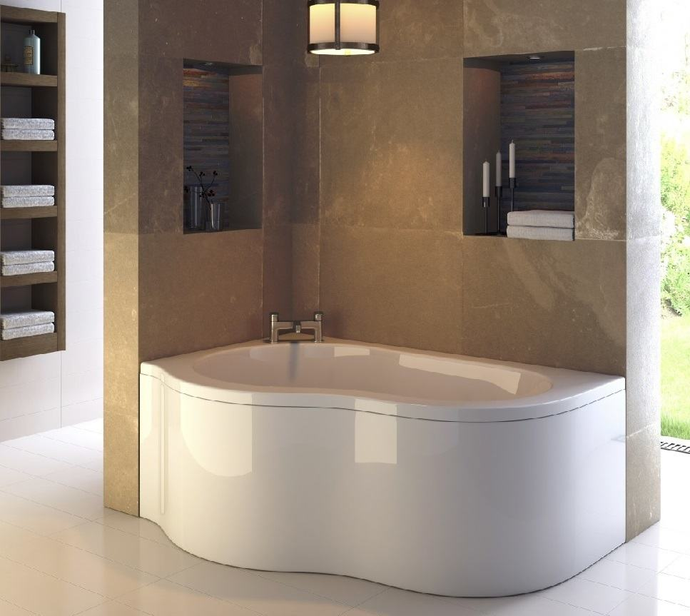 A Wide Variety of Modern Bathtubs