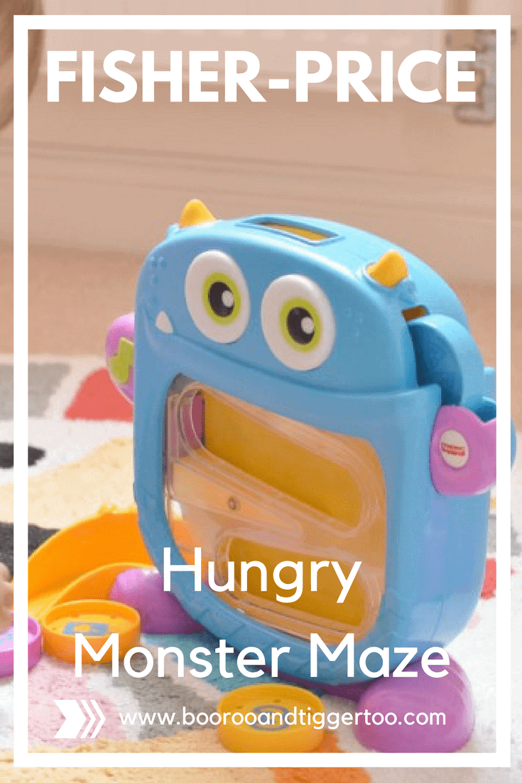 Fisher-Price Hungry Monster Maze | Boo Roo and Tigger Too